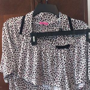 New Betsy Johnson pajama set